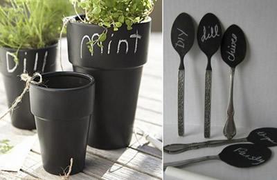16b-Chalkboard-pots-herb-planters-blackboard-cutlery-spoon-plant-labels-550x412.jpg