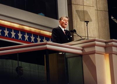 レーガン元大統領共和党大会1992年.JPG