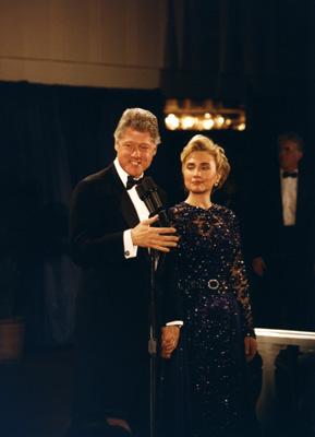 クリントン大統領夫妻就任式舞踏会.JPG