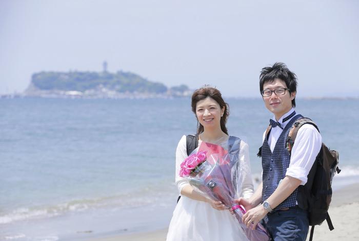 湘南、鎌倉に特別な思いがある素敵なお二人でした^^