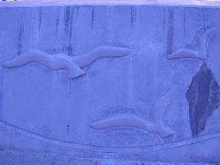 浅虫海釣り公園の岸壁