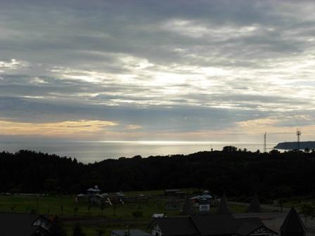 サンタランドと日本海