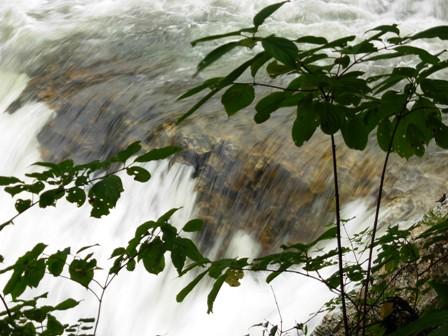 大滝の流れ
