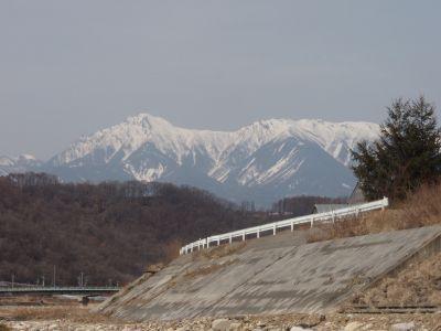 3月24日の八ヶ岳