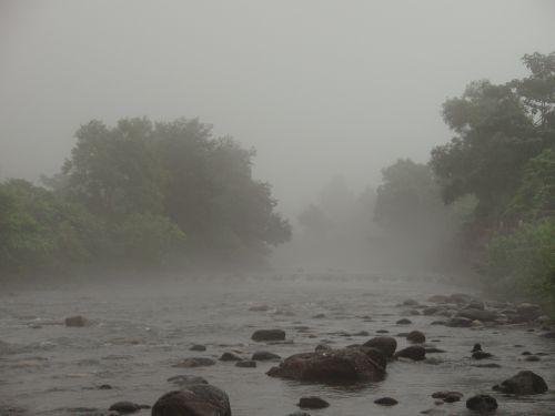 なにやら不穏な霧が・・・