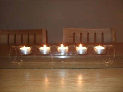 Tealight Log