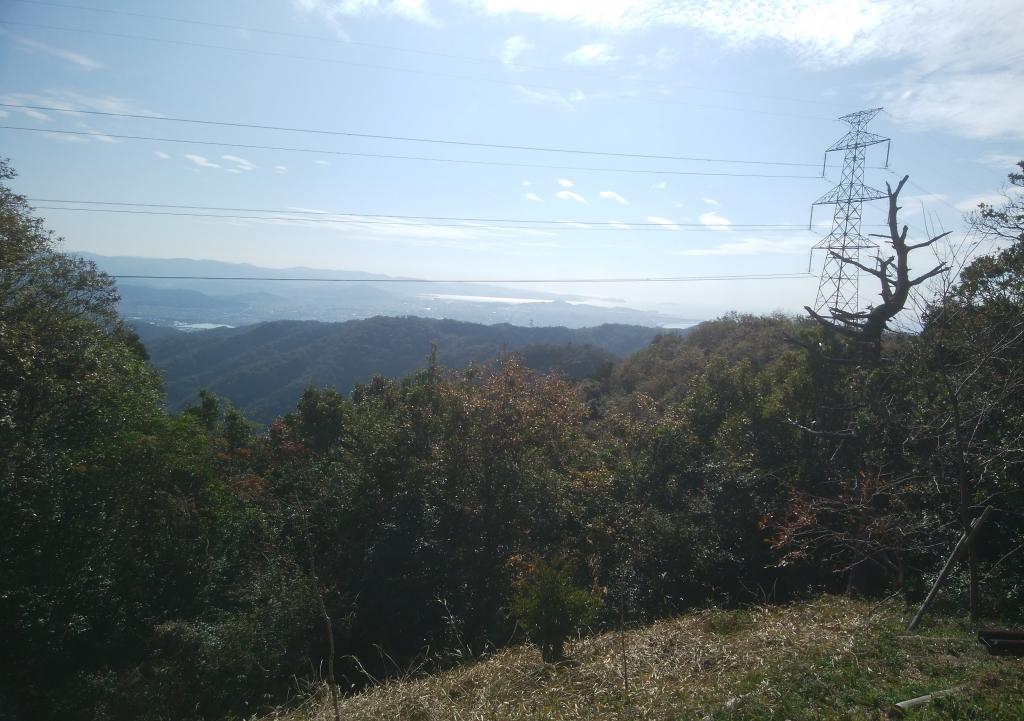 大福山山頂から和歌山方面