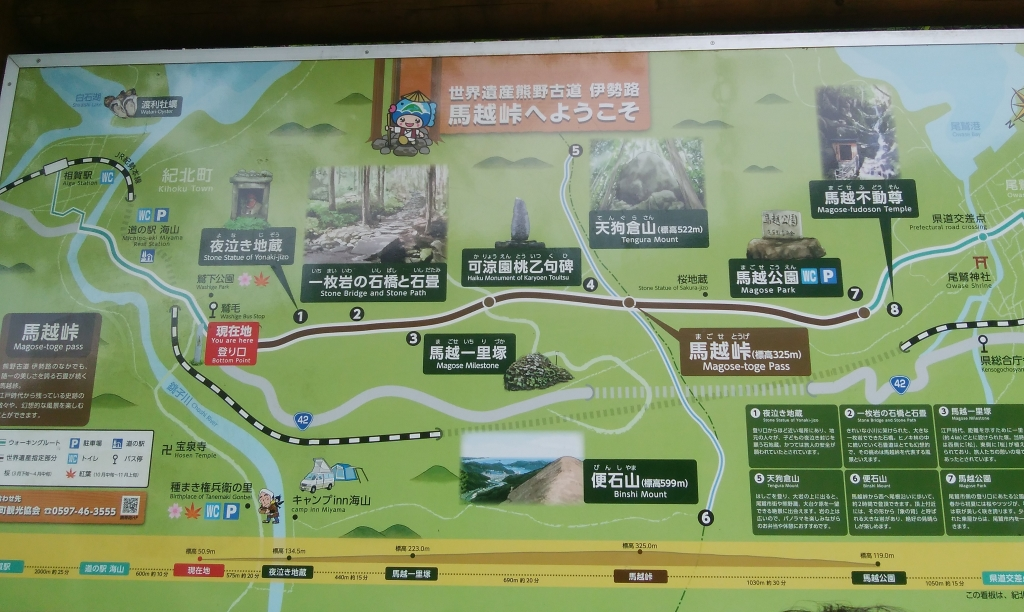馬越峠地図