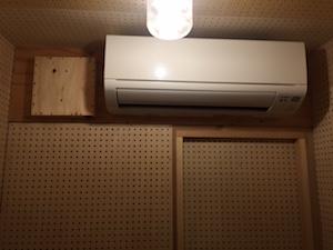 防音室のエアコン