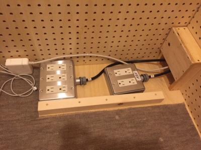 防音室の電源