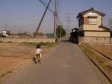 柚子自転車(補助付き)