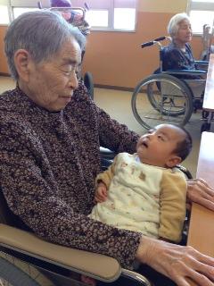 祖母と一心