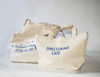 HELTERING CAFE _ ランチバッグ [ナチュラル]