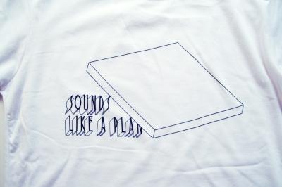 SOUNDS LIKE A PLAN _ Tシャツ[ホワイト]