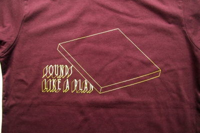 SOUNDS LIKE A PLAN _ Tシャツ[バーガンディ]