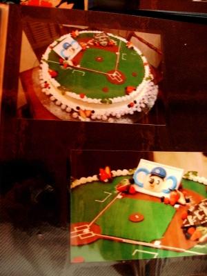 ドアラウェディングケーキ