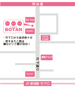 three BOTAN MAP