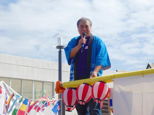 2018年「DI祭り」社長あいさつ