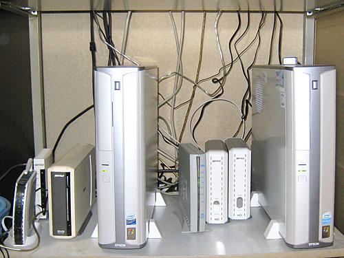 自宅のパソコン環境