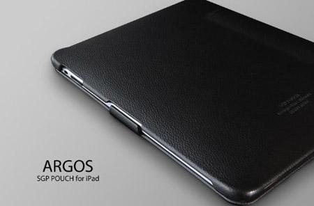 iPadケースレザーケース『ARGOSアルゴス【ブラック】for Apple iPad』