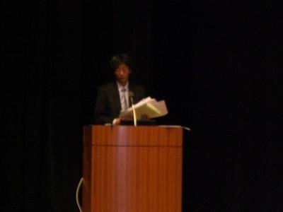 菊池先生講演