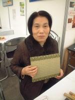 畳の小物製作体験教室�リフォームフェアーin広島