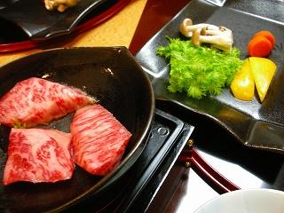 台の物〜牛ロースステーキ