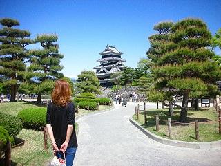 松本城に登城