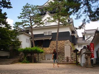 岡崎城に登城!!