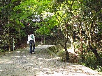 伊賀 上野公園到着