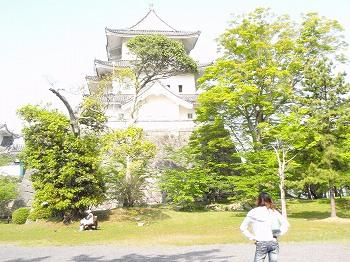 伊賀上野城に登城