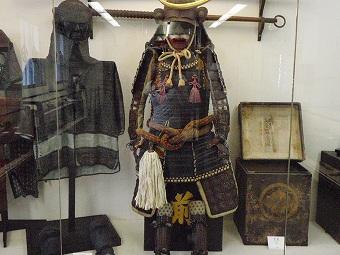 資料館の鎧