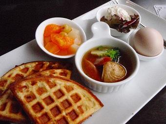 岐阜のコーヒー屋さんの朝食