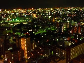 名古屋グランコートからの夜景