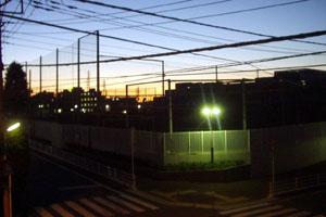 2009年元旦 夜明け前