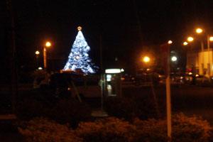 厚木基地クリスマスツリー