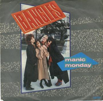 The Bangles - Manic Monday (UK Single)