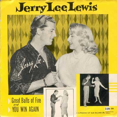 Jerry Lee Lewis With His Pumping Piano - Great Balls Of Fire