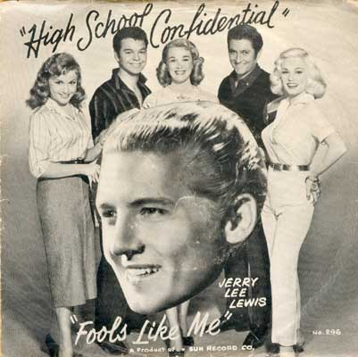 Jerry Lee Lewis With His Pumping Piano - High School Confidential