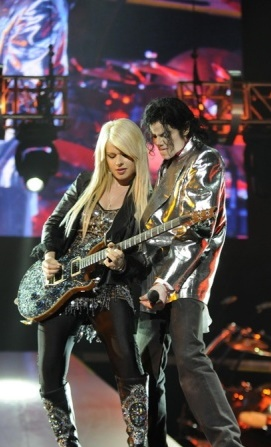 This Is It Michael Jackson and Orianthi