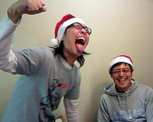 Yoshimin Santa & Mixer Daddy-O Santa