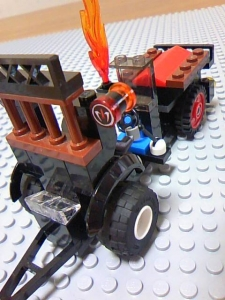 Lego Bounty Hunter Vehicle