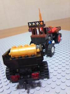 Lego Bounty Hunter Vehicle