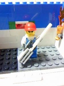LEGO Guitarist