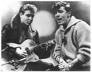 Eddie Cochran, Gene Vincent