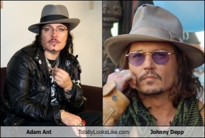 Adam Ant - Johnny Depp