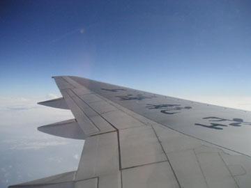 上海航空の翼