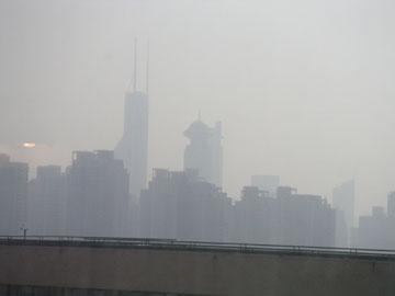 上海の空はいつもこんなの
