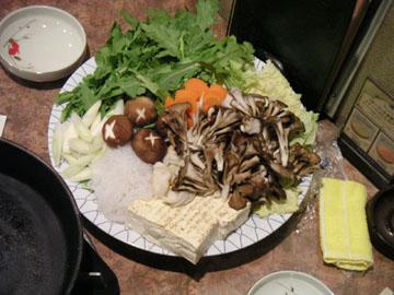 4人分の野菜