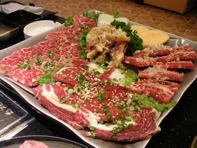 メインの肉